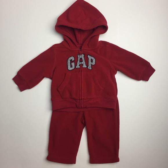 Gap Logo Baby Fleece 2-piece Sweatsuit